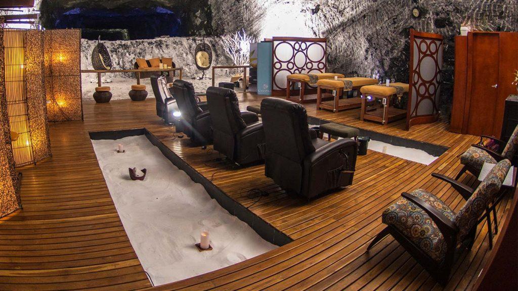 Zona de masajes de Esensal